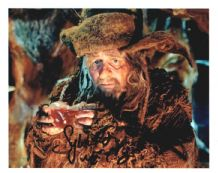 Sylvester McCoy Signed Photo - The Hobbit